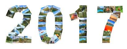 De Reis van Canada 2017 Nieuwjaar Royalty-vrije Stock Foto's