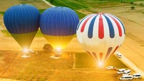 De Reis van Cappadocia van branderballons royalty-vrije stock foto's