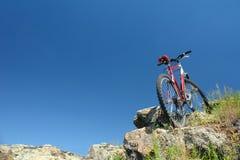 De reis van de fiets Royalty-vrije Stock Foto