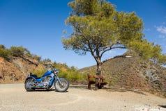 De reis van de fiets Stock Foto