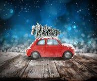 De reis van de Kerstmisvakantie het 3d teruggeven Stock Fotografie