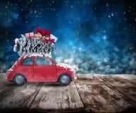 De reis van de Kerstmisvakantie het 3d teruggeven Royalty-vrije Stock Fotografie