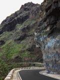 De reis van de kustweg op Tenerife Royalty-vrije Stock Afbeelding