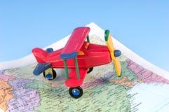 De Reis van de lucht Royalty-vrije Stock Foto's