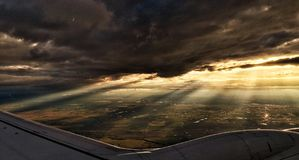 De Reis van de lucht Royalty-vrije Stock Afbeelding