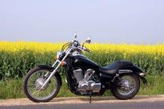 De Reis van de motorfiets Royalty-vrije Stock Foto's