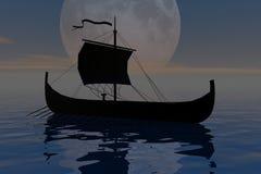 De reis van de nacht Royalty-vrije Illustratie