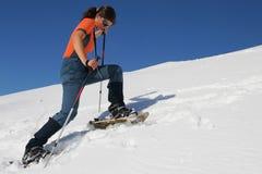 De reis van de sneeuwschoen Royalty-vrije Stock Fotografie