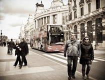 De Reis van de Stad van Madrid Royalty-vrije Stock Afbeelding