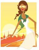 De reis van de vakantie. royalty-vrije illustratie