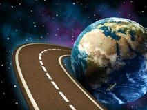 De reis van de weg Royalty-vrije Stock Afbeelding