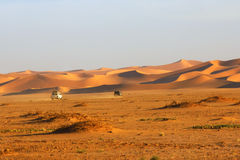 De reis van de woestijn Royalty-vrije Stock Afbeelding