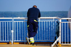 De reis van het cruiseschip, Langesund, Noorwegen Stock Afbeeldingen
