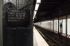 De reis van het de stadsleven van New York Stock Foto