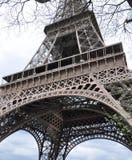 De reis van La Eiffel - Eiffelturm in Parijs Stock Foto's