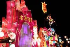 De Reis van lantaarns aan het westen Royalty-vrije Stock Afbeeldingen