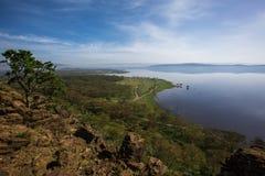 De reis van meernakuru kenya Royalty-vrije Stock Afbeelding