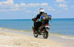 De reis van Moto Stock Afbeelding