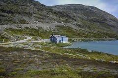 De reis 2018 van Noorwegen stock afbeeldingen