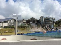 2014 de reis van ' Oktober 'aan Okinawa Stock Afbeeldingen