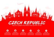 De Reis van Praag, Tsjechische Republiek Royalty-vrije Stock Foto's