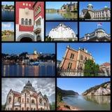 De reis van Servië Stock Foto's