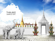 De reis van Thailand stock fotografie