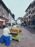 De reis van Zwitserland stock afbeeldingen