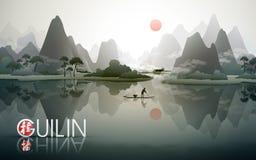 De reisaffiche van China Guilin