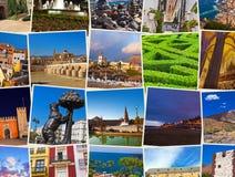 De reisbeelden van Spanje (mijn foto's) Stock Foto