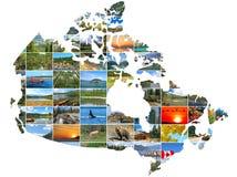De reisconcept van Canada stock afbeelding