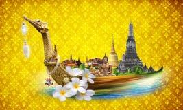 De reisconcept van Thailand royalty-vrije illustratie