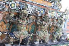 De reiscultuur van Thailand wat arun Stock Fotografie