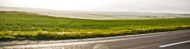 De reismening van de weg Stock Foto's