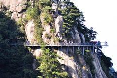 De reisplaats van Sanqingshan stock foto