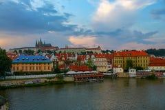 De reizende historische bouw, Praag royalty-vrije stock fotografie