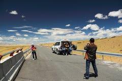 De reiziger stock foto