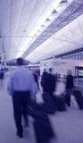 De Reizigers van de lucht Stock Foto