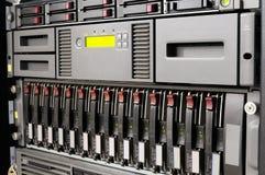 De rek opgezette apparatuur van IT Royalty-vrije Stock Fotografie