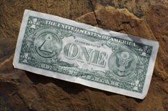 De Rekening van één Dollar Royalty-vrije Stock Foto