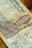 De rekening van Egiptian Stock Afbeeldingen