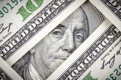 De Rekening van honderd Dollars Royalty-vrije Stock Afbeeldingen