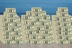 De Rekeningen van de dollar Royalty-vrije Stock Afbeelding