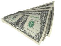 De rekeningen van de dollar Stock Afbeeldingen