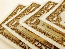 De Rekeningen van de dollar Stock Fotografie