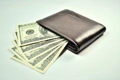 De Rekeningen van de portefeuille en van de V.S. Stock Foto's