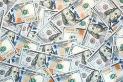 De Rekeningen van 100 Dollars Royalty-vrije Stock Foto