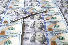 De Rekeningen van honderd Dollars Royalty-vrije Stock Foto
