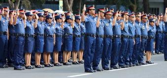 De rekrutering van de politiemacht