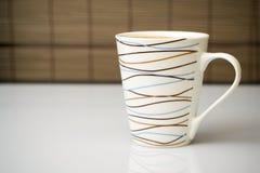 De rem van de koffie in bureau. Stock Foto's
